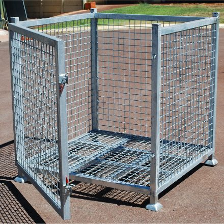Australian Importing Group - Full Cage Solid Galvanised