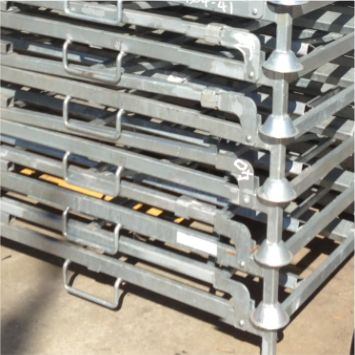 Australian Importing Group - Collapsible Tyre Racks